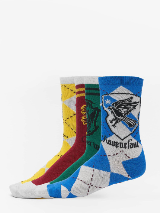 Merchcode Socks Harry Potter Team 4-Pack colored