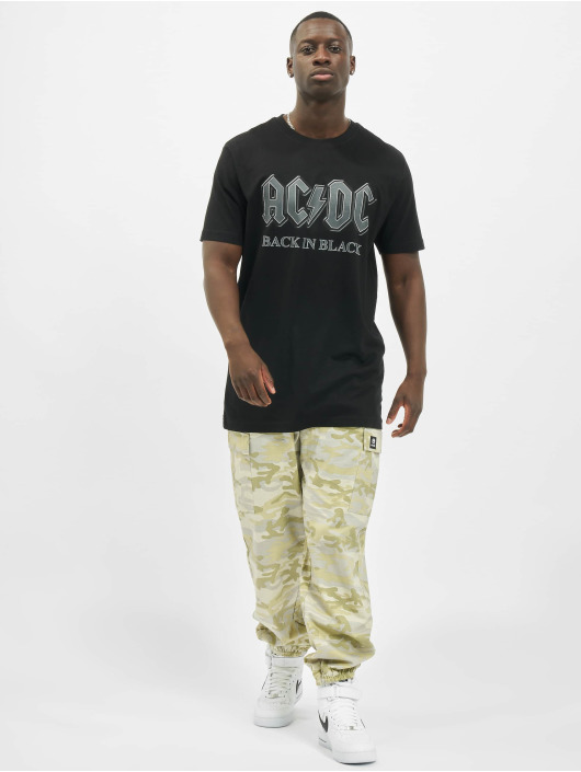 Merchcode T-Shirt Acdc Back In Black black