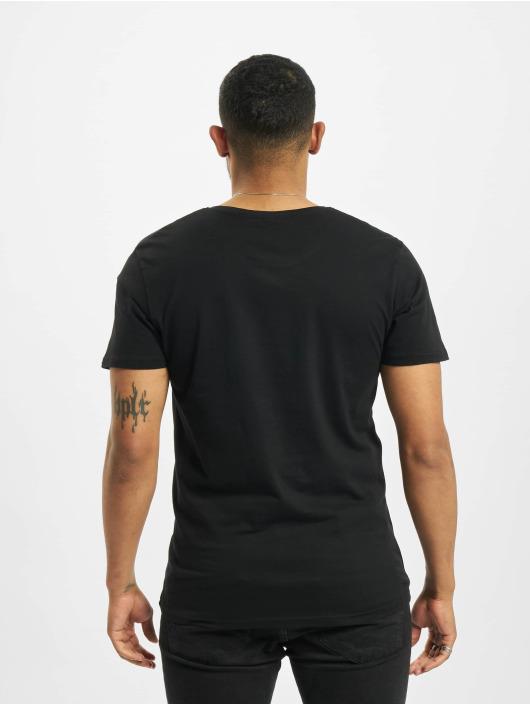 Merchcode T-Shirt Star Wars The Mandalorian Logo black