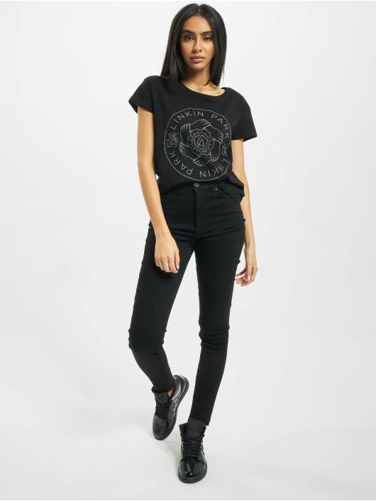 Merchcode T-Shirt Ladies Linkin Park Hex Circle Box black