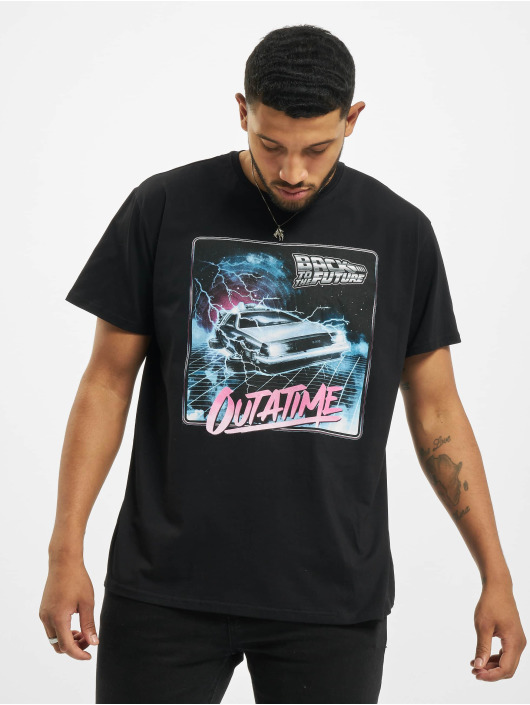 Merchcode T-Shirt Back To The Future Outatime black
