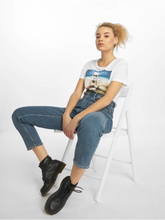 Merchcode T-Shirt Ladies Stormtrooper white