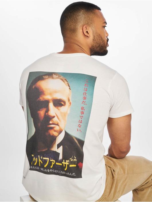 Merchcode T-Shirt Godfather Characters white