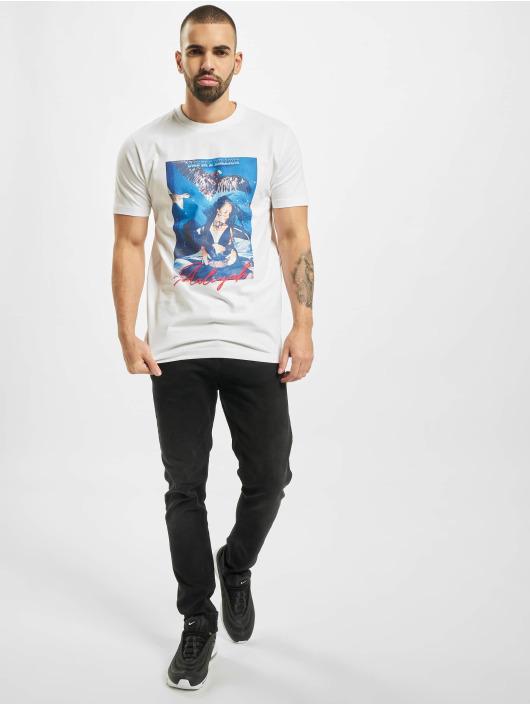Merchcode T-Shirt Aaliyah One In A Million white