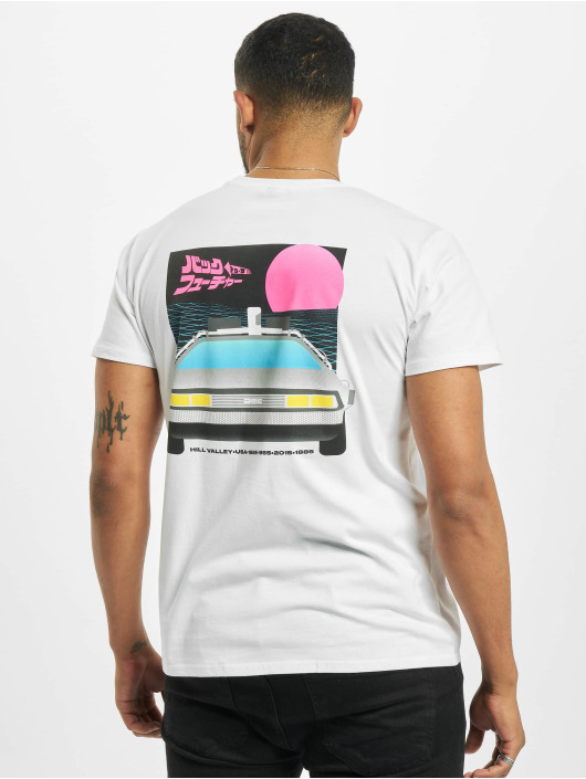 Merchcode T-Shirt Denim Project Kema Jacket Navy white