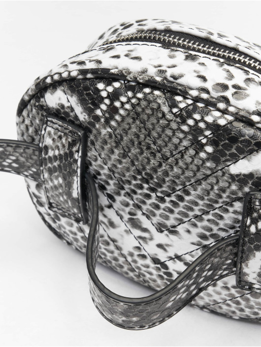 Missguided Bag Black An White Snake black