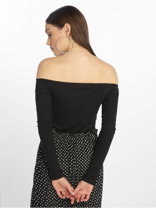 Missguided Body Button Front Long black