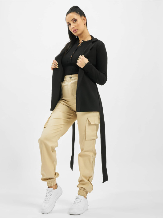 Missguided Cargo pants Tall Plain beige