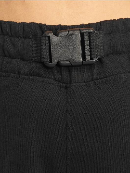 Missguided Cargo pants Seat Belt black