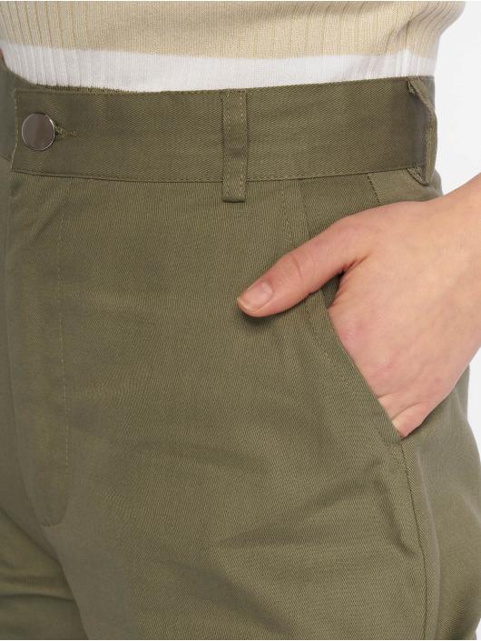 Missguided Cargo pants Plain khaki