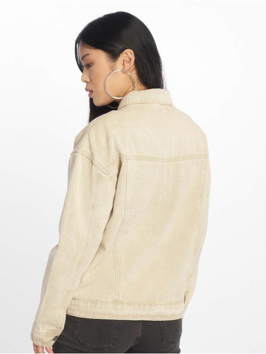 Missguided Denim Jacket Oversized Denim beige