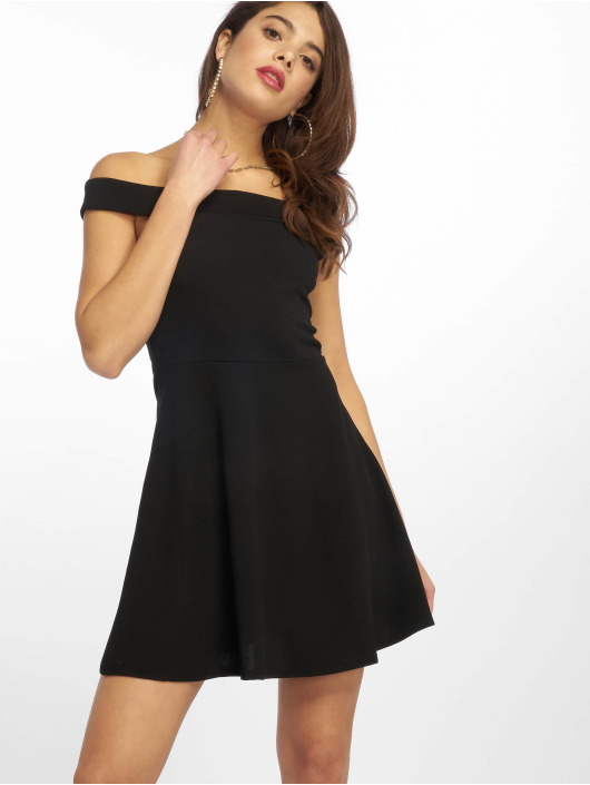 Missguided Dress Bardot Skater black