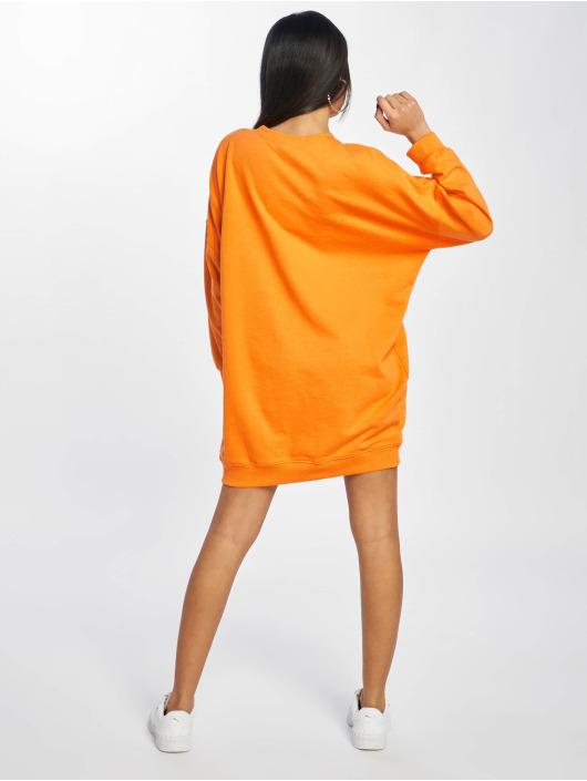 Missguided Dress Mg Signiture orange