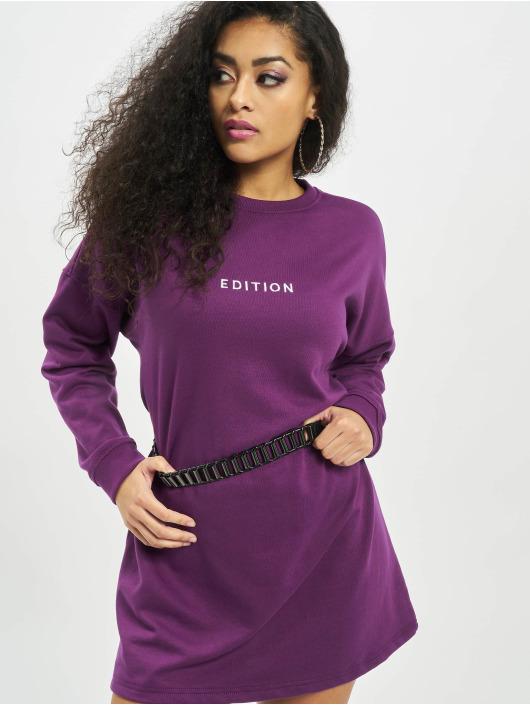 Missguided Dress Oversized Sweater Edition purple