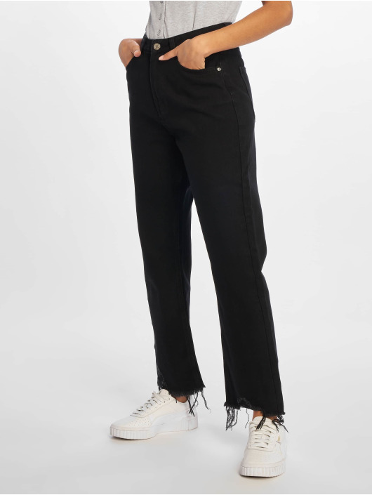 Missguided High Waisted Jeans Wrath black