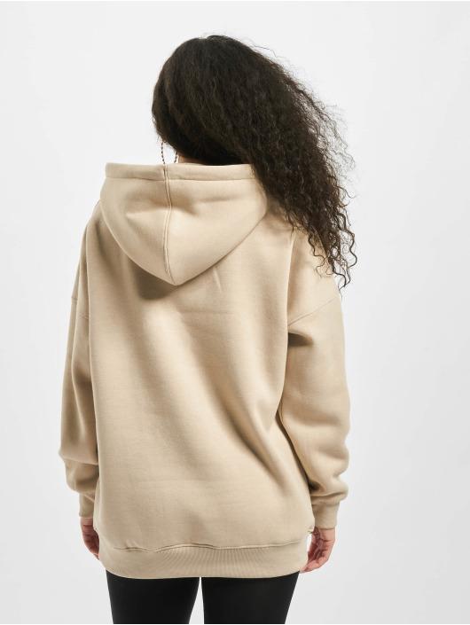 Missguided Hoodie Mmx Oversized beige