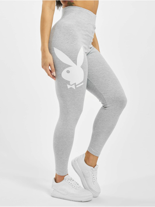 Missguided Leggings/Treggings Playboy Bunny Lounge gray