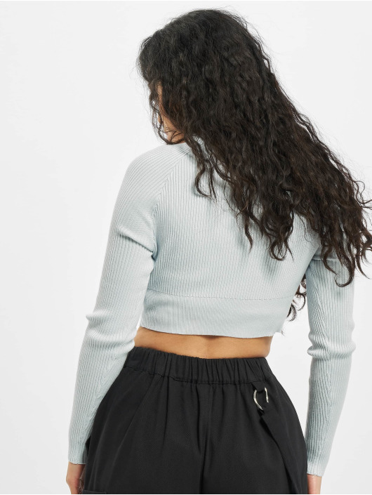 Missguided Longsleeve Petite Msgd Co Ord blue