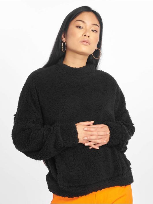 Missguided Pullover Pocket Front black