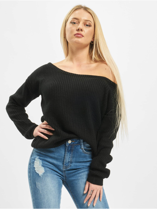 Missguided Pullover Ophelita black