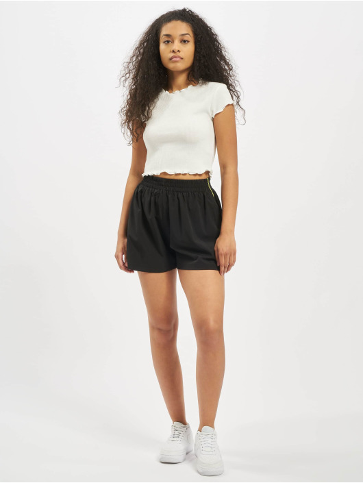 Missguided Short Piping Co-Ord Active black