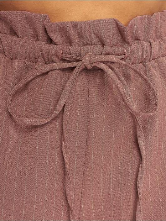 Missguided Short Pinstripe Gathered Waist rose