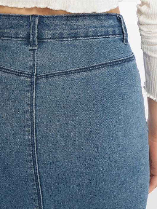 Missguided Skirt Super Stretch Denim Mini blue