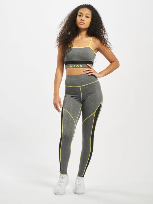 Missguided Suits Mesh Panel Active gray