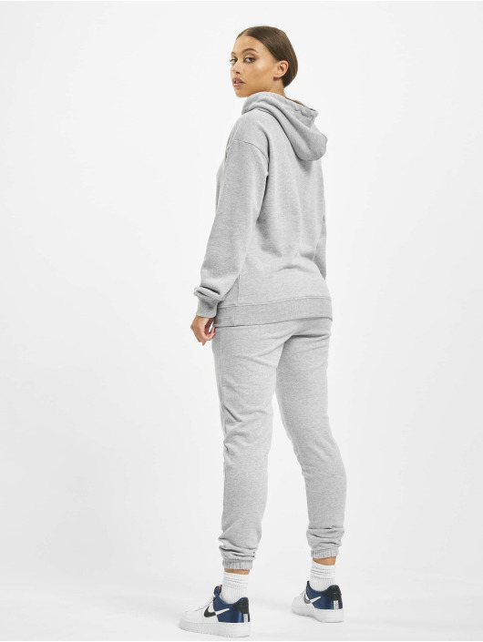 Missguided Suits Hoody And Jogger gray