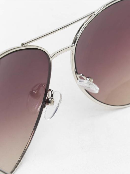 Missguided Sunglasses Glam Aviator silver