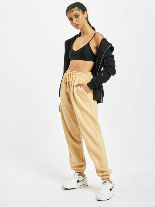 Missguided Sweat Pant Petite 90s brown