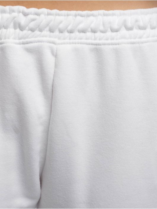 Missguided Sweat Pant White Basic white