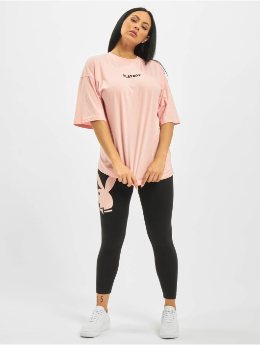 Missguided T-Shirt Playboy Girl Magazine OS rose