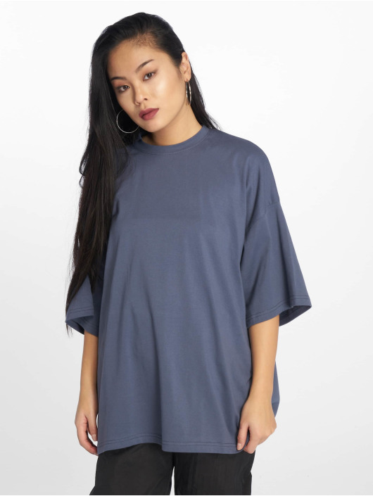 Missguided Top Drop Should Oversized gray
