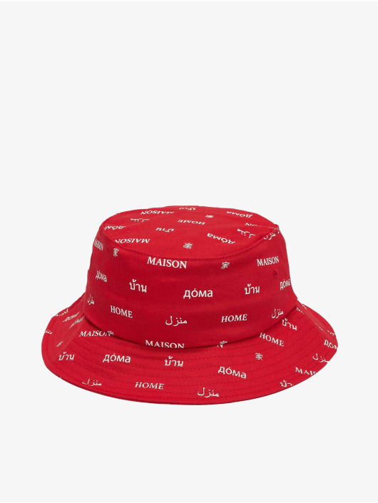Mister Tee Hat Maison red