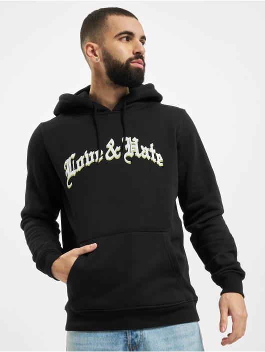 Mister Tee Hoodie Love & Hate black