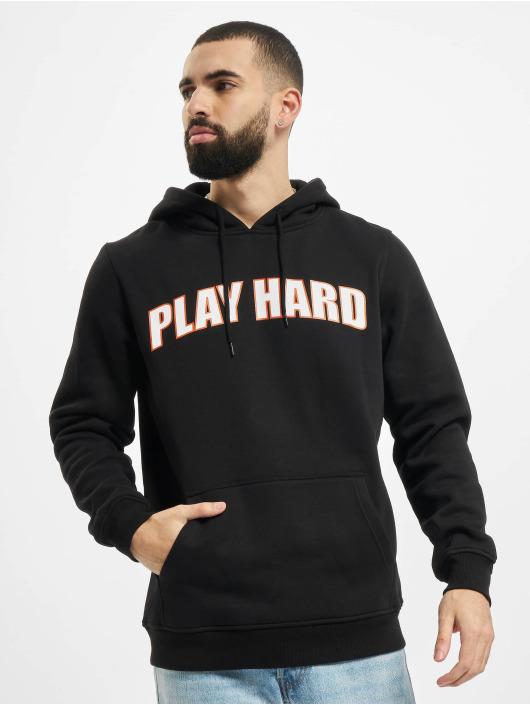 Mister Tee Hoodie Play Hard black