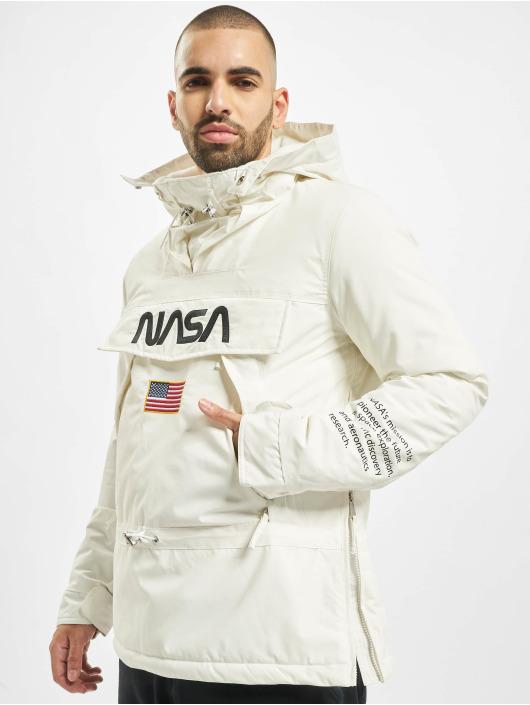 Mister Tee Lightweight Jacket Nasa white