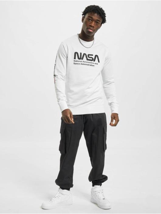 Mister Tee Pullover NASA white