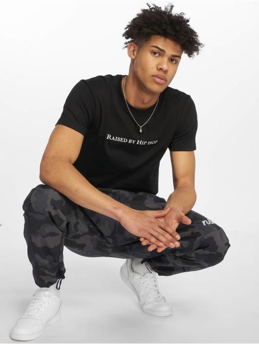 Mister Tee T-Shirt Raised By Hip Hop black
