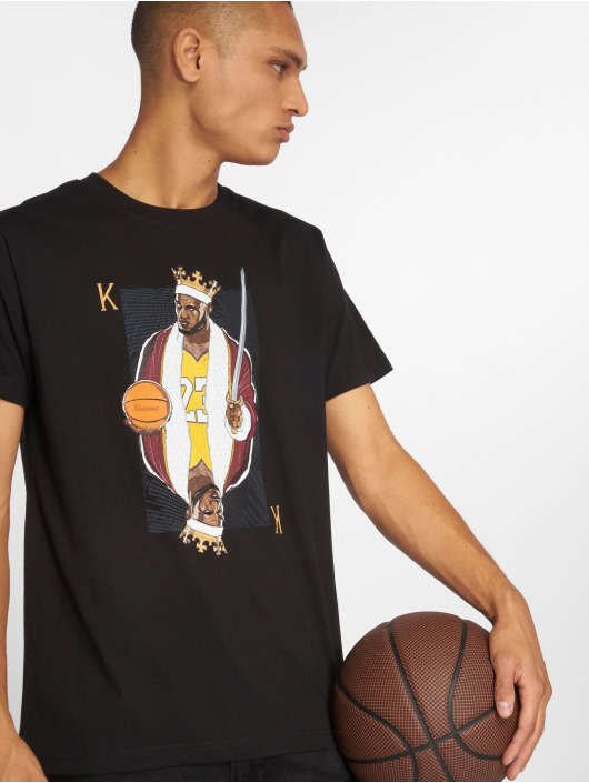 Mister Tee T-Shirt King James LA black