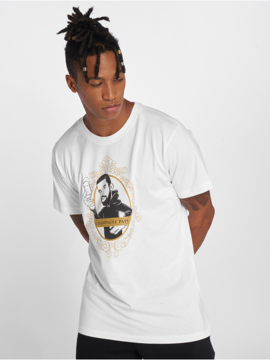 Mister Tee T-Shirt Champagne Papi black