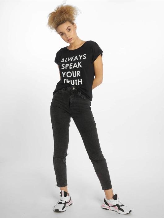Mister Tee T-Shirt Speak Truth black