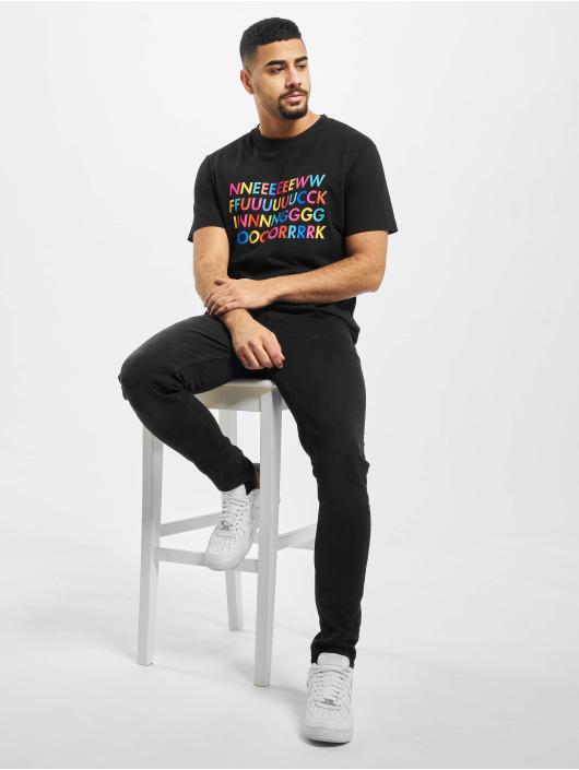 Mister Tee T-Shirt New Fucking black
