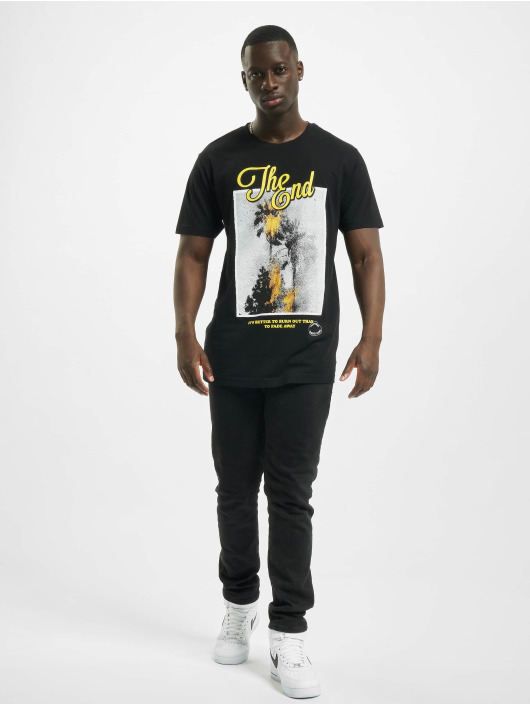 Mister Tee T-Shirt The End black