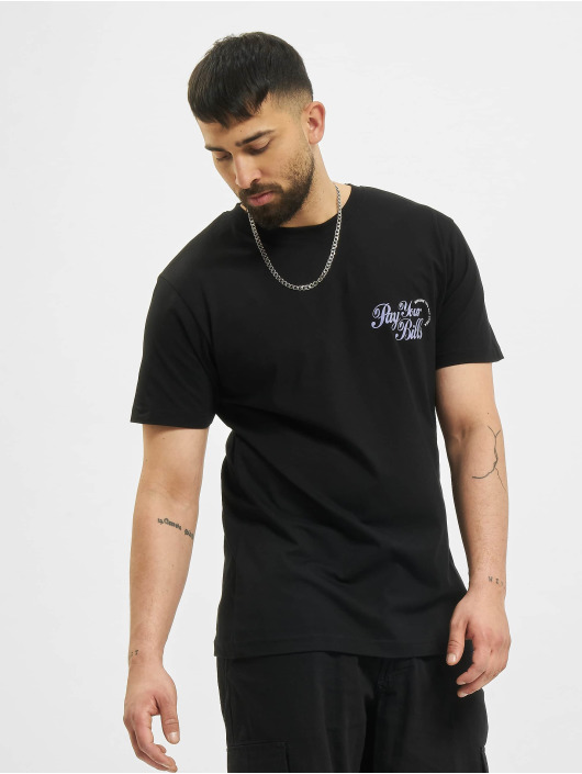 Mister Tee T-Shirt Pay Your Bills black