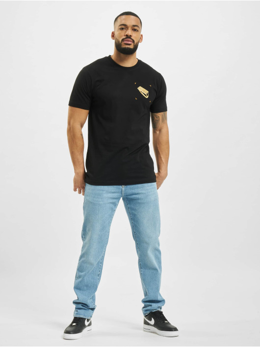 Mister Tee T-Shirt Pray Ring black