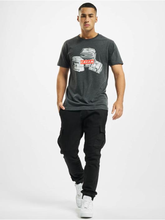 Mister Tee T-Shirt C.R.E.A.M. Bundle gray