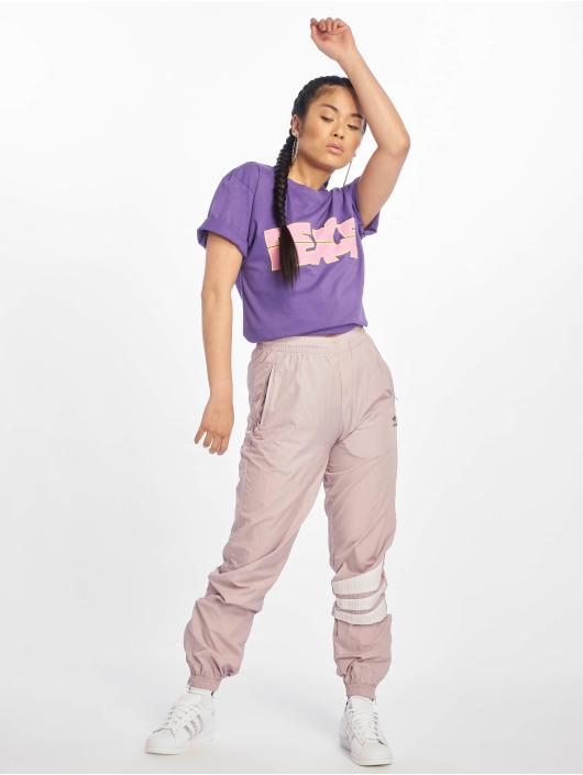 Mister Tee T-Shirt Peace Tall purple