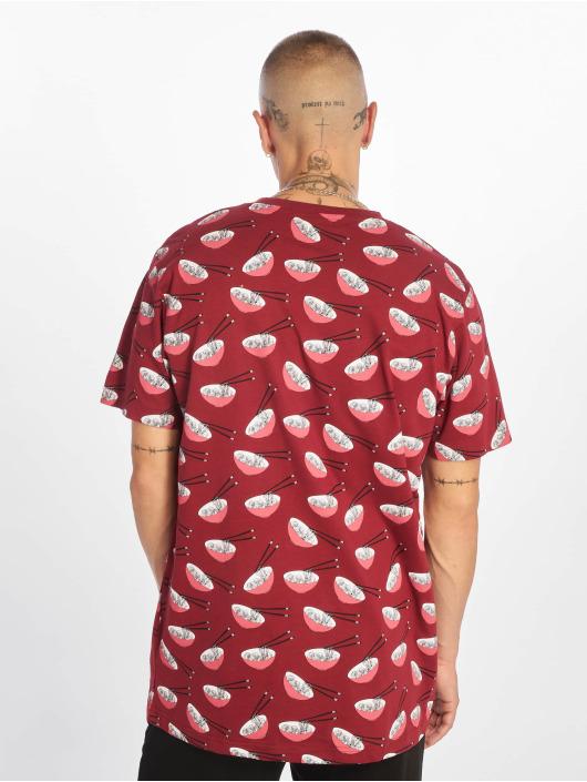 Mister Tee T-Shirt Yam Yam Aop Ramen red